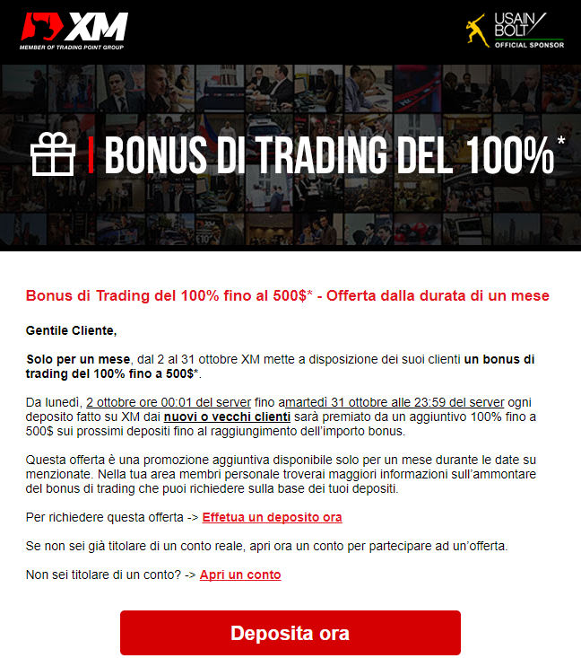 bonus forex 100% xm