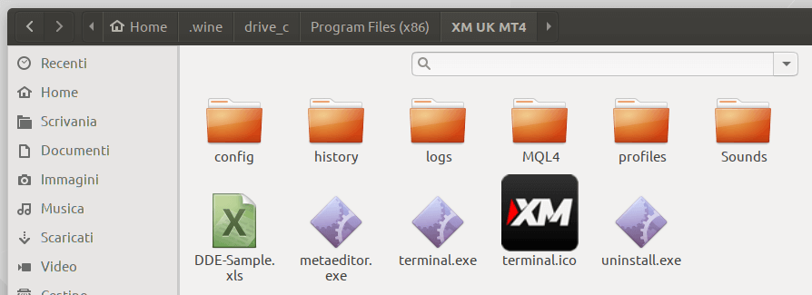 metatrader linux ubuntu