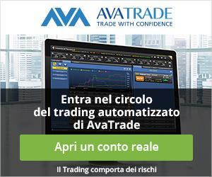 Avatrade permette di fare trading sull'indice VIX - Clicca QUI per provare con un conto DEMO gratuito